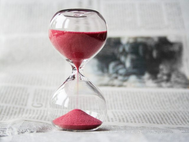 時間は有限を再確認